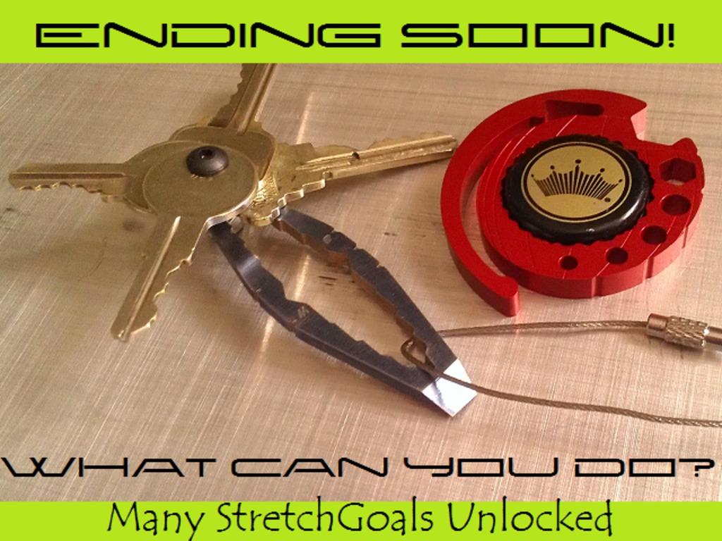 WTF - Mini Titanium Keychain's video poster