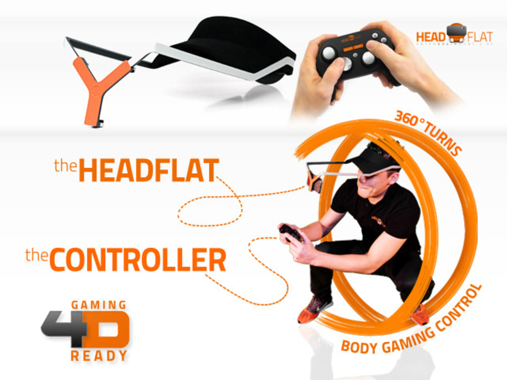 """headflat - the smartphone """"Hands-Free-Solution""""'s video poster"""