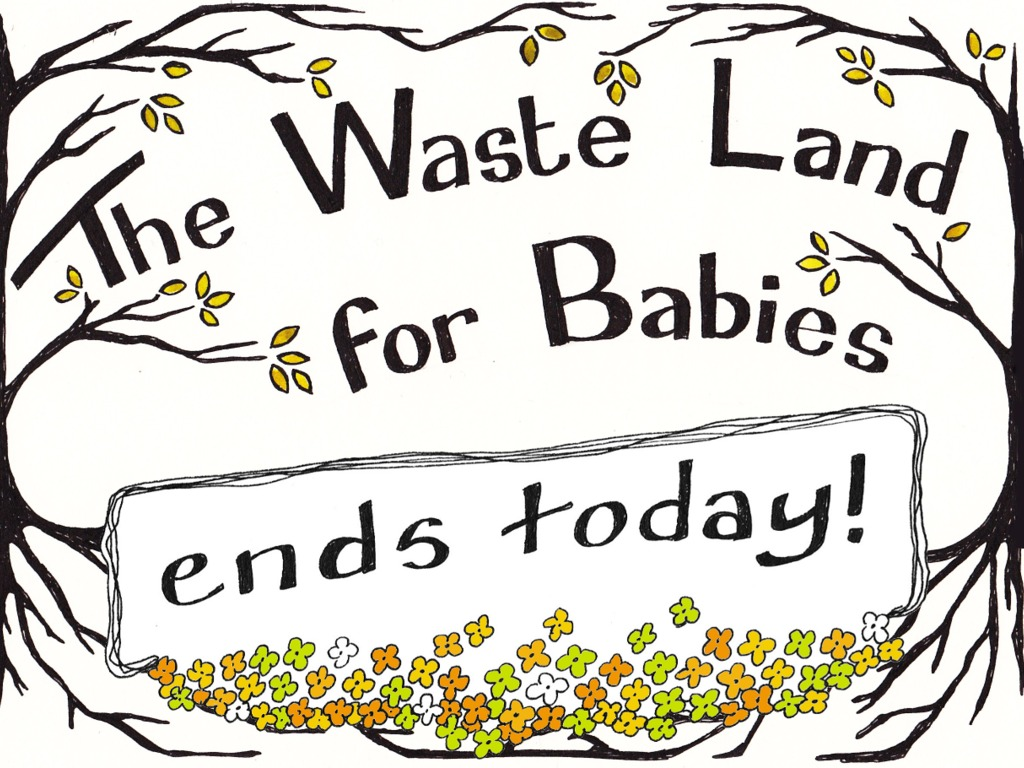 The Waste Land For Babies: a picture book's video poster