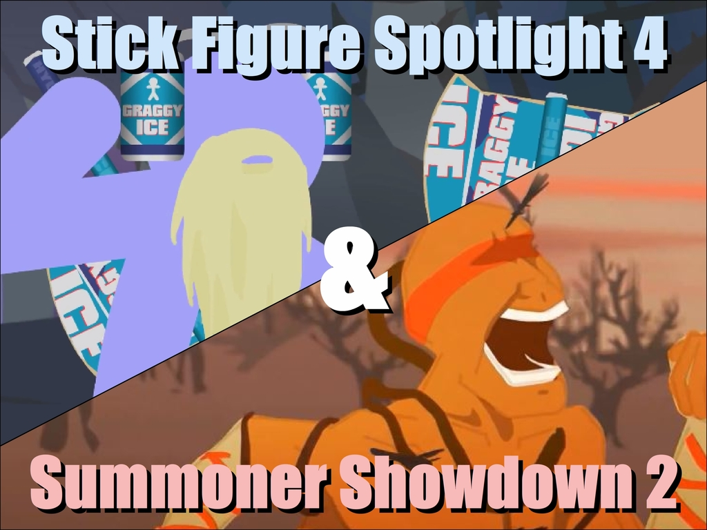 Stick Figure Spotlight 4 and Summoner Showdown 2's video poster