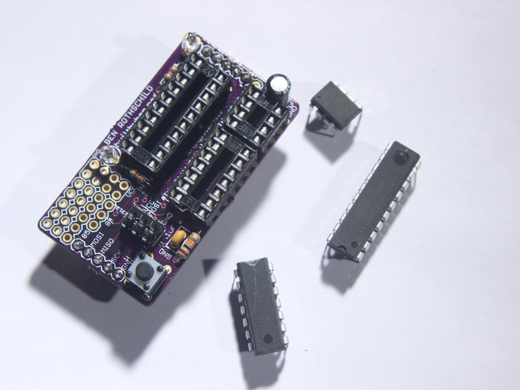 Chipper - The ATtiny Programming and Prototyping Shield's video poster