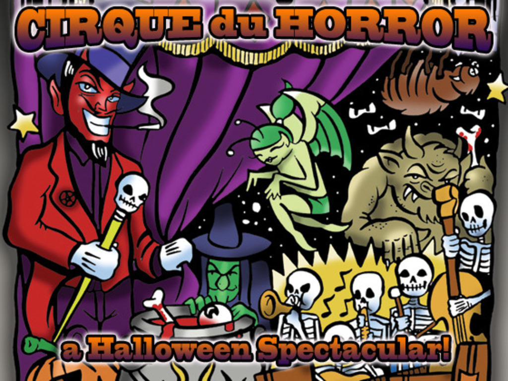 Cirque du Horror - A Halloween Spooktacular's video poster