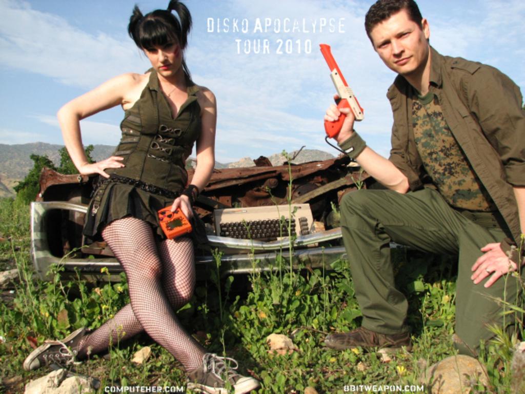 The Disko Apocalypse Tour!'s video poster