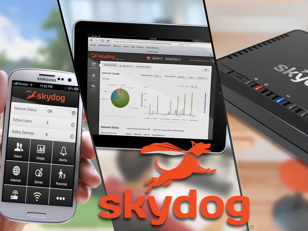 Skydog: Your Home Network Reinvented's video poster