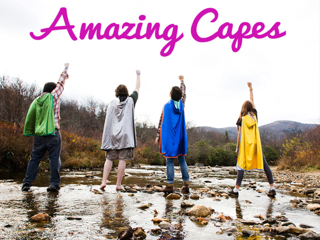 Amazing Capes - Release Your Inner Superhero!'s video poster