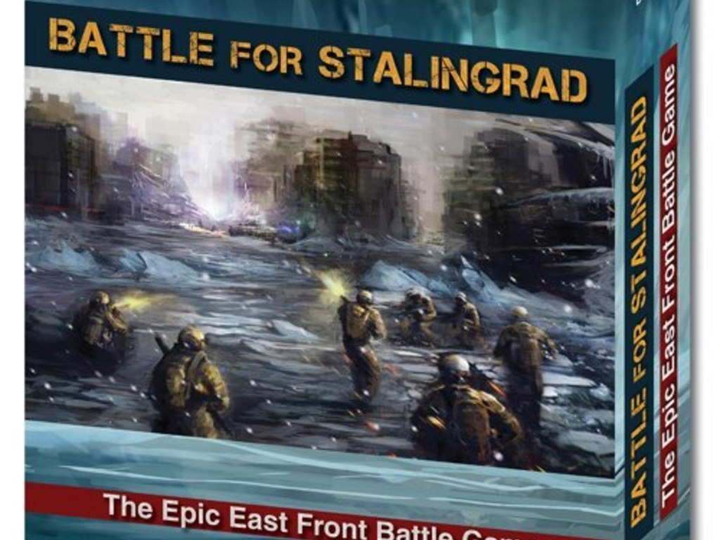 Battle for Stalingrad - intuitive card-based wargaming's video poster