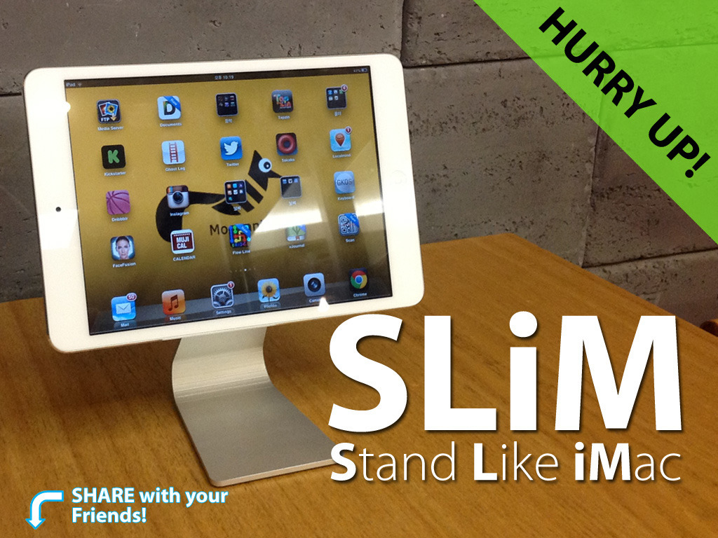 SLiM- Stand Like iMac for iPad (Suspended)'s video poster