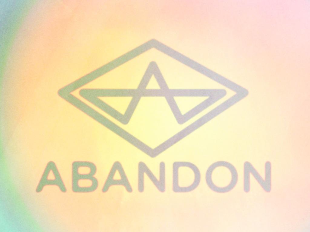 ABANDON: NEW ALBUM's video poster
