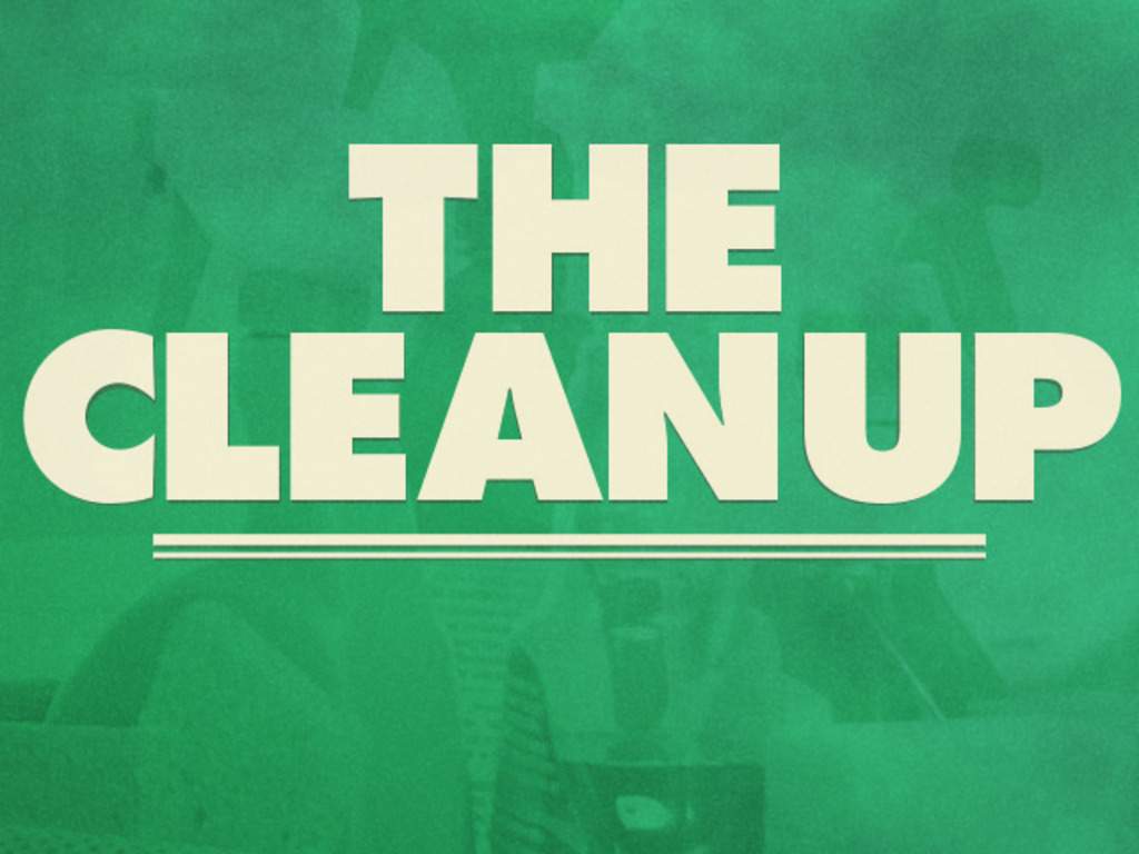 """""""The Clean Up"""" (A Short Film)'s video poster"""