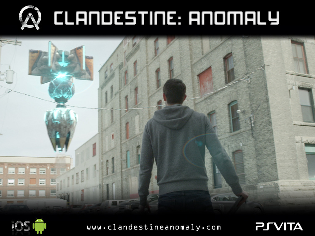 Clandestine: Anomaly's video poster