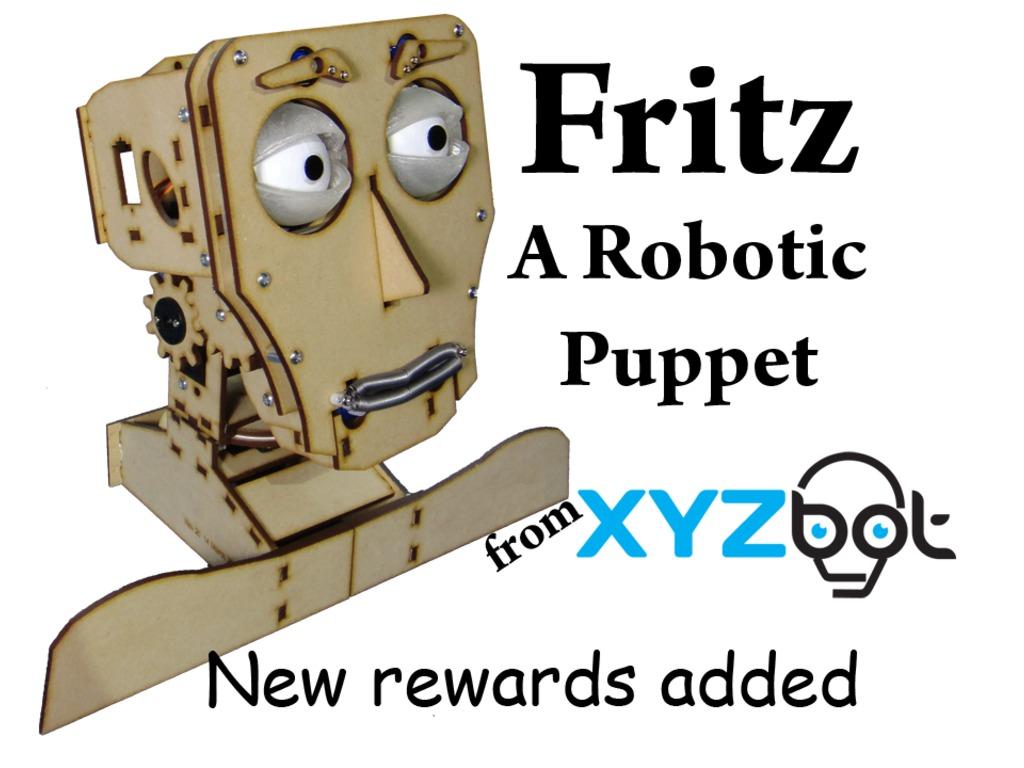 Fritz: A Robotic Puppet's video poster