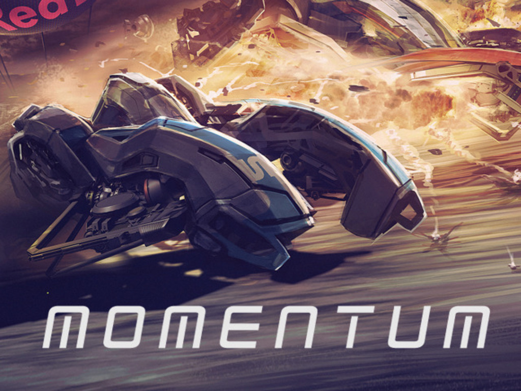 MOMENTUM : short film set in the year 2043's video poster