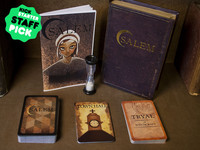SALEM: A Strategic Card Game of Deception for 4-12 Players