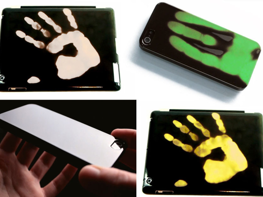 Thermio cases : paint by finger on iPhone iPad (Canceled)'s video poster
