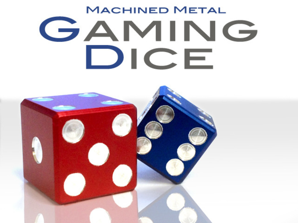 Precision Machined Metal Gaming Dice's video poster