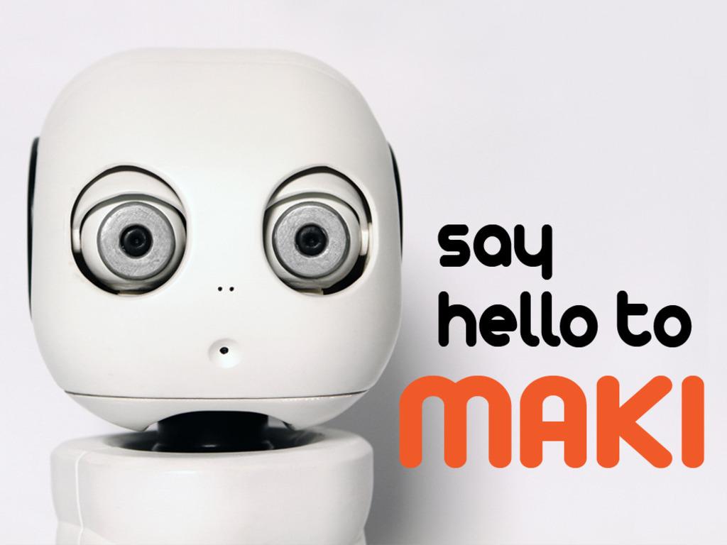 MAKI - A 3D Printable Humanoid Robot's video poster