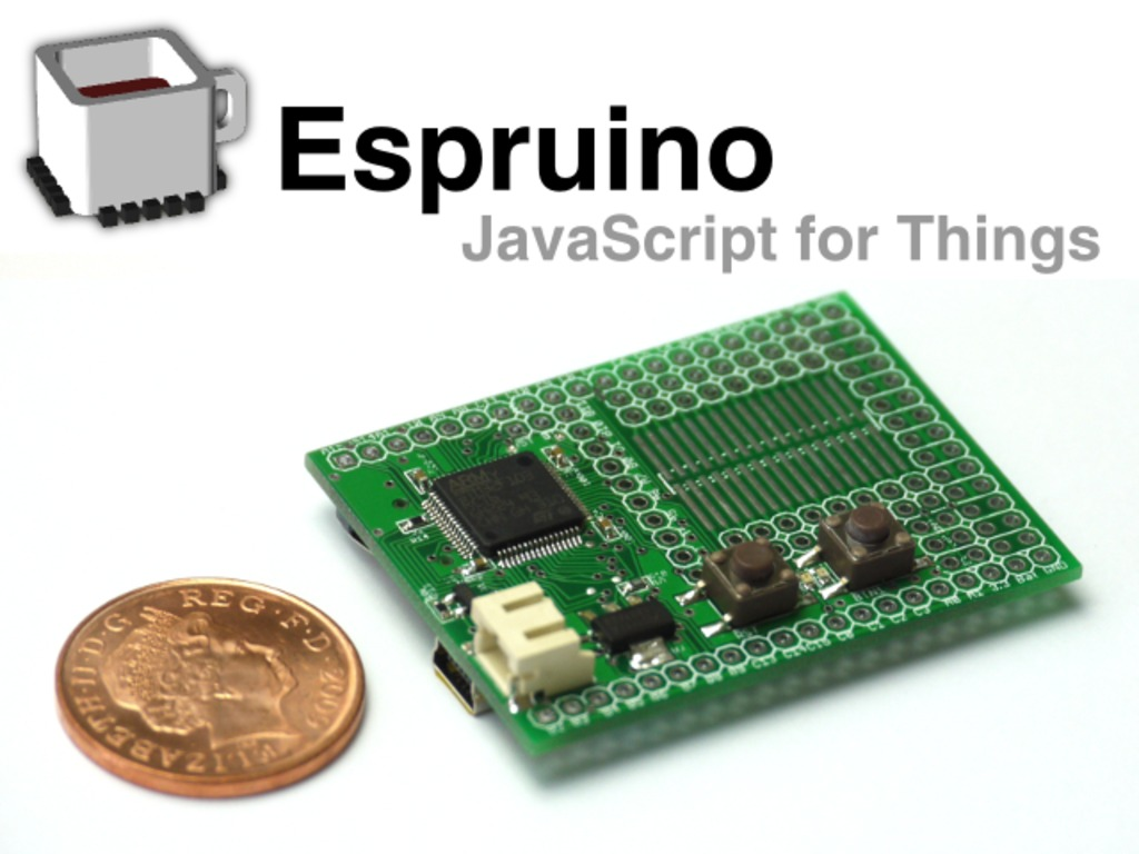 Espruino: JavaScript for Things's video poster