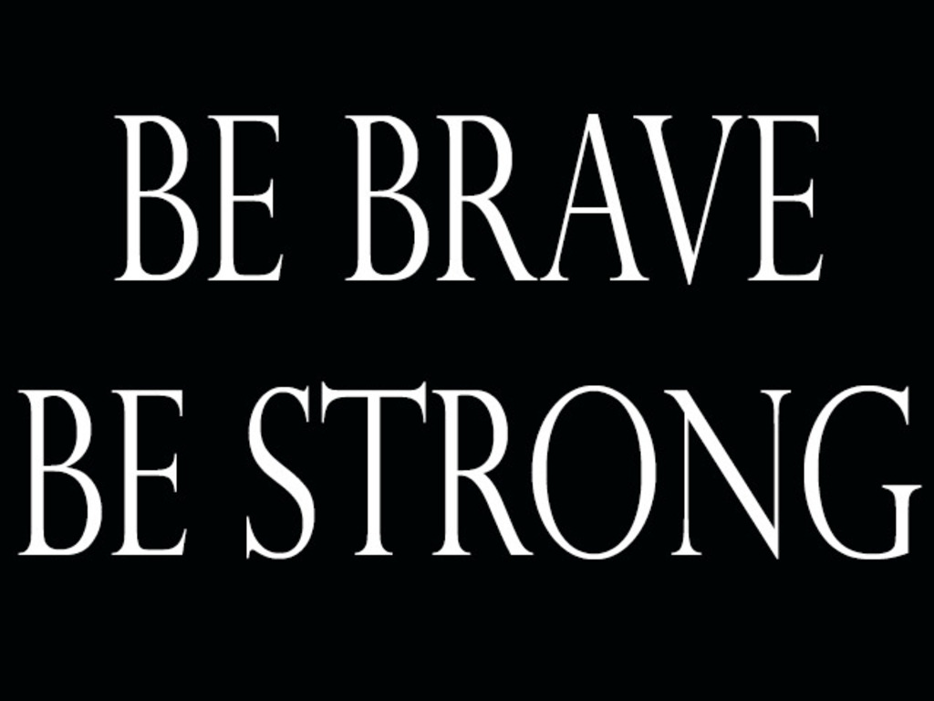 Be Brave, Be Strong: A Documentary's video poster