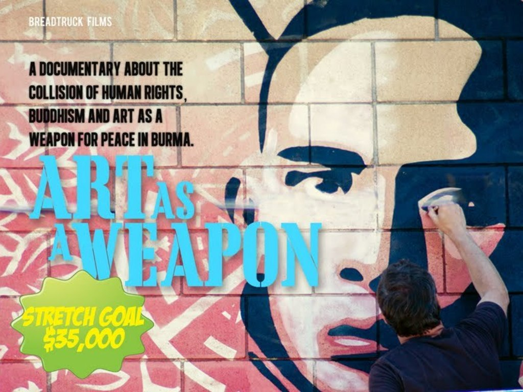Art As A Weapon's video poster
