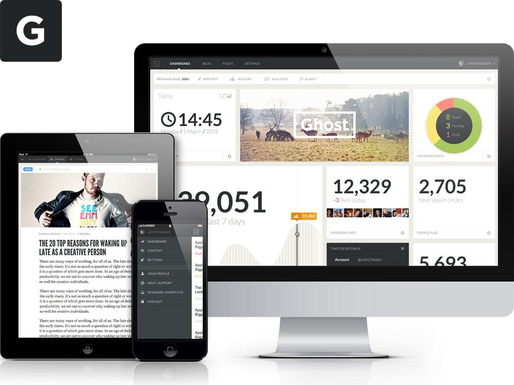 Ghost: Just a Blogging Platform's video poster