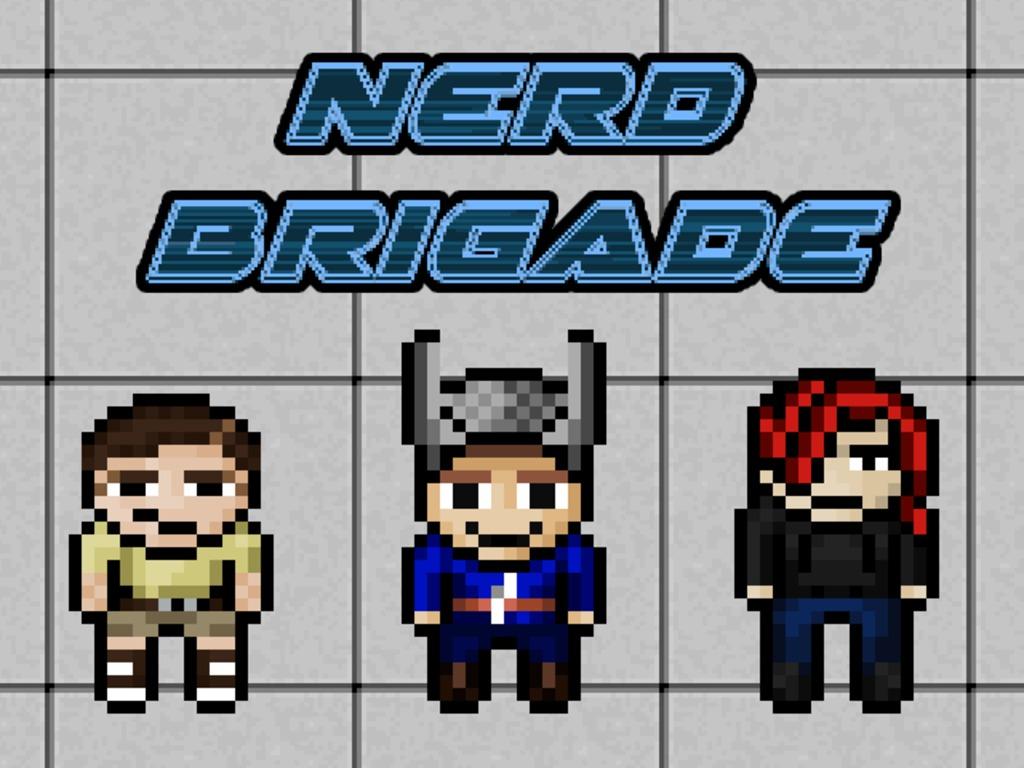 Nerd Brigade - A Comedy JRPG for PC/Mac's video poster