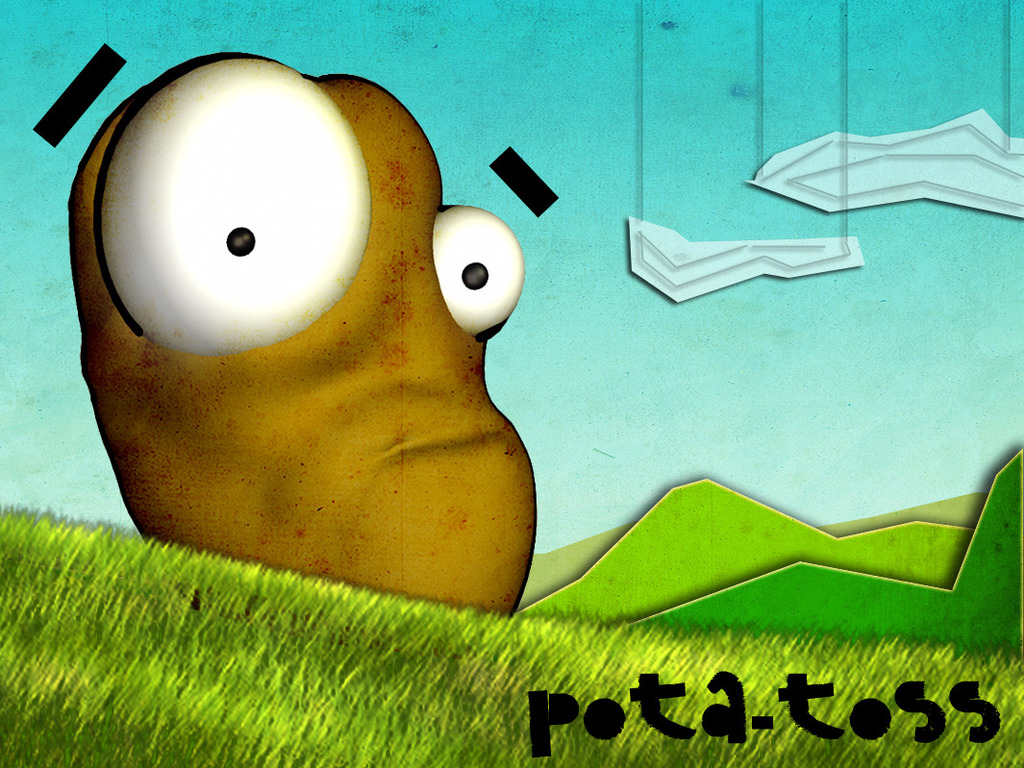 Pota-Toss! -   Amazing Indie iPhone / iPod / iPad Game!'s video poster