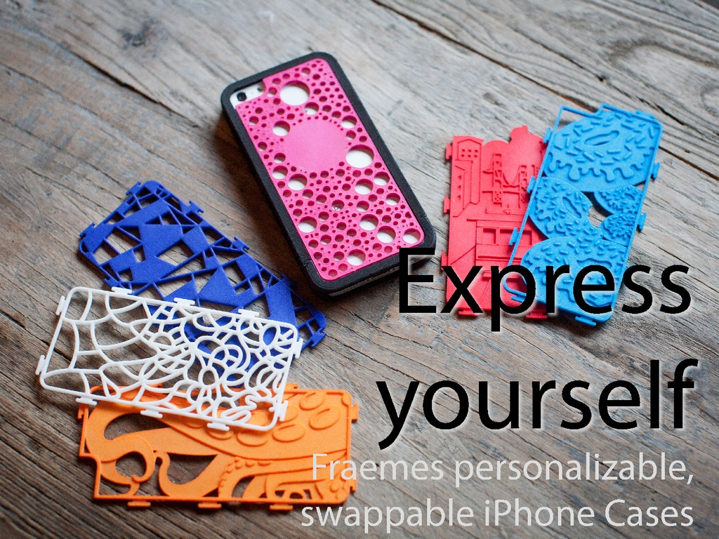 Fraemes: Personalizable, swappable, 3D-printed iPhone cases's video poster