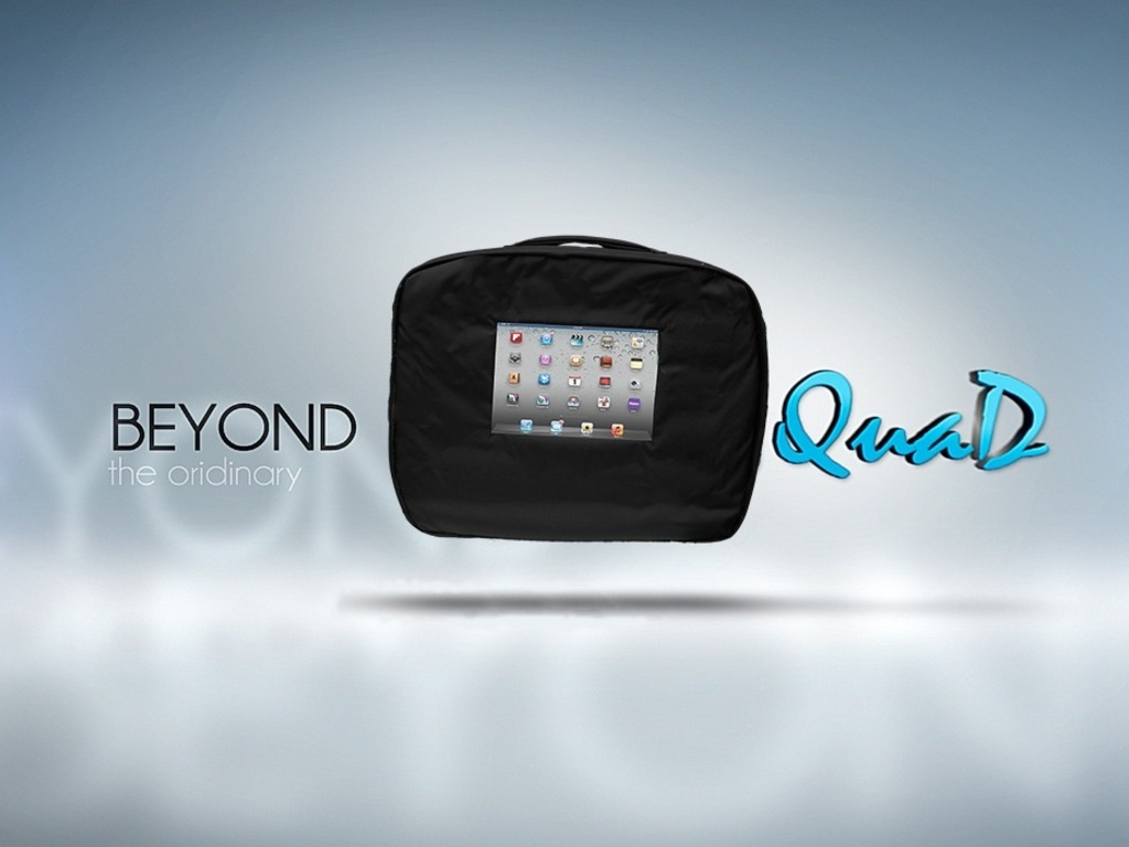 QuaD: iBag for your iPad, iPhone and MacBook's video poster