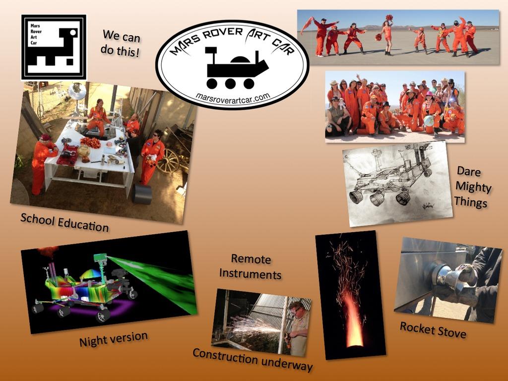 The Mars Rover Art Car :: Burning Man 2013's video poster