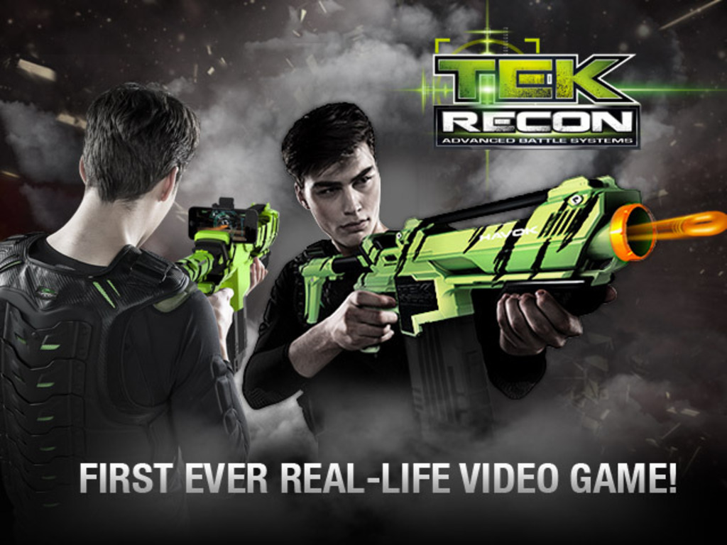 Tek Recon-Soft Projectile Blaster with FPS Online Game Play's video poster