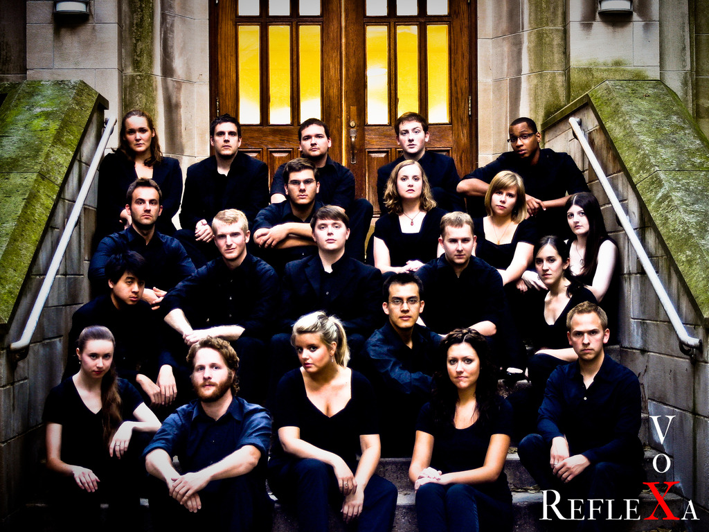 Vox Reflexa New Millennium Composer's Forum CD Project's video poster