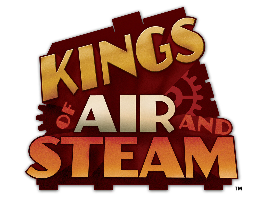 Kings of Air and Steam - a steampunk themed board game's video poster