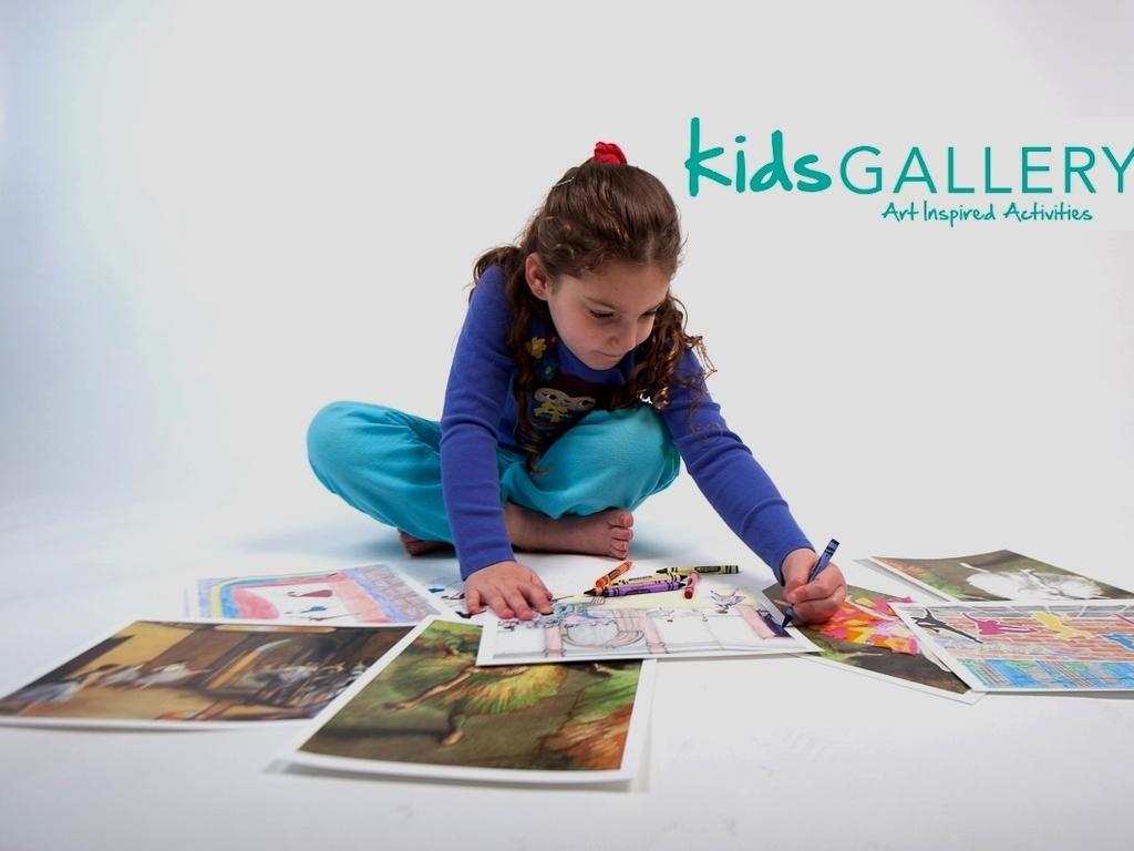 Kids GALLERY - art inspired activities's video poster