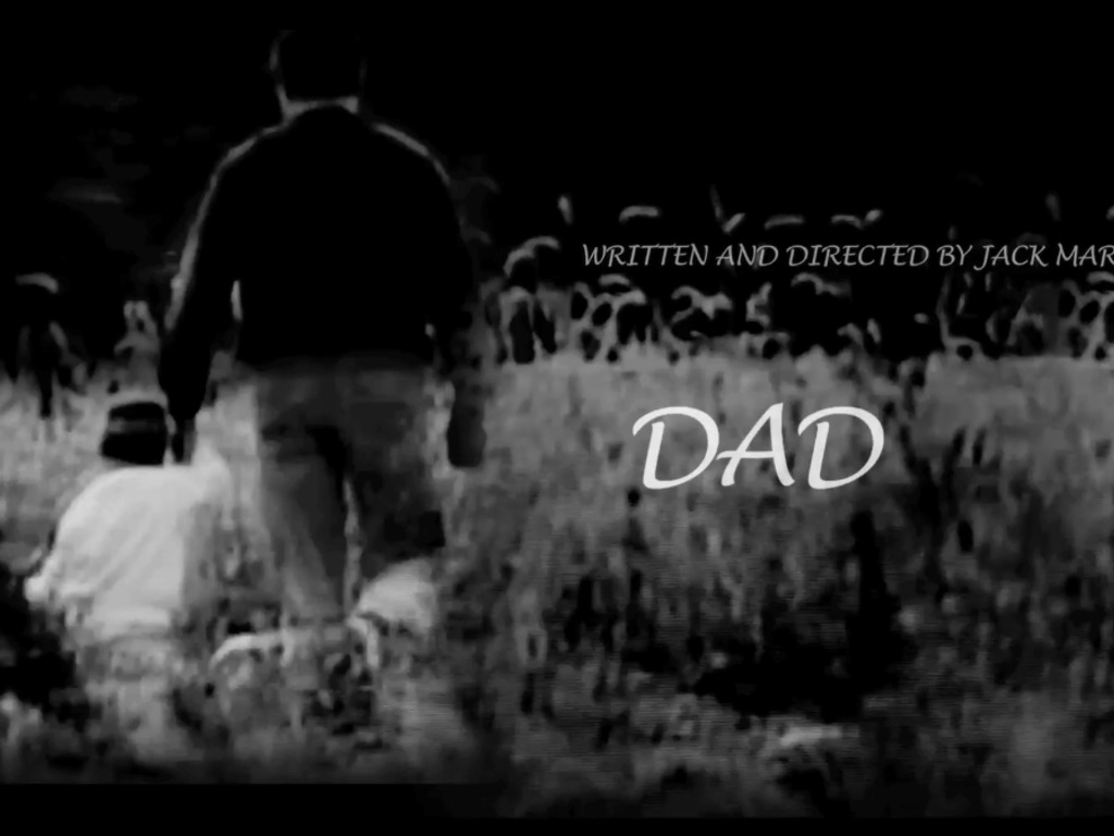 """""""DAD"""" - A USC Short Film's video poster"""