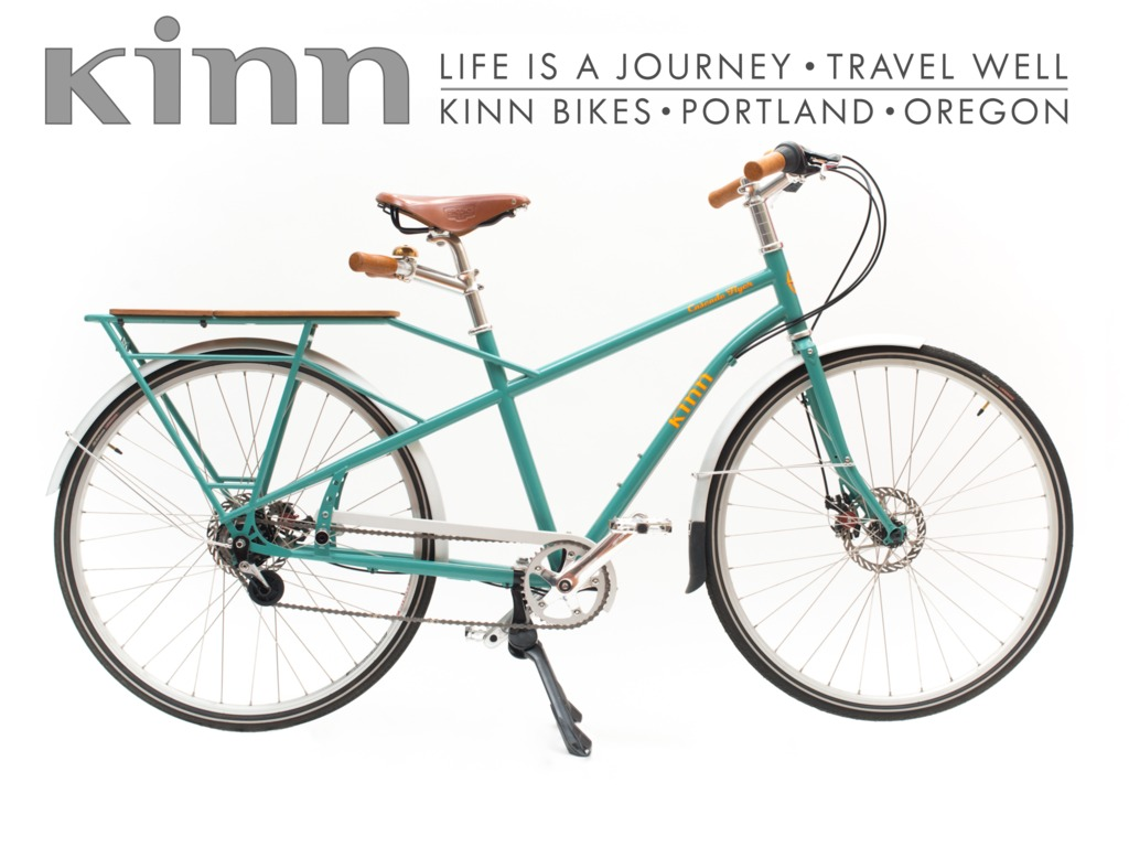 Kinn - A fast, family-friendly transport bike's video poster