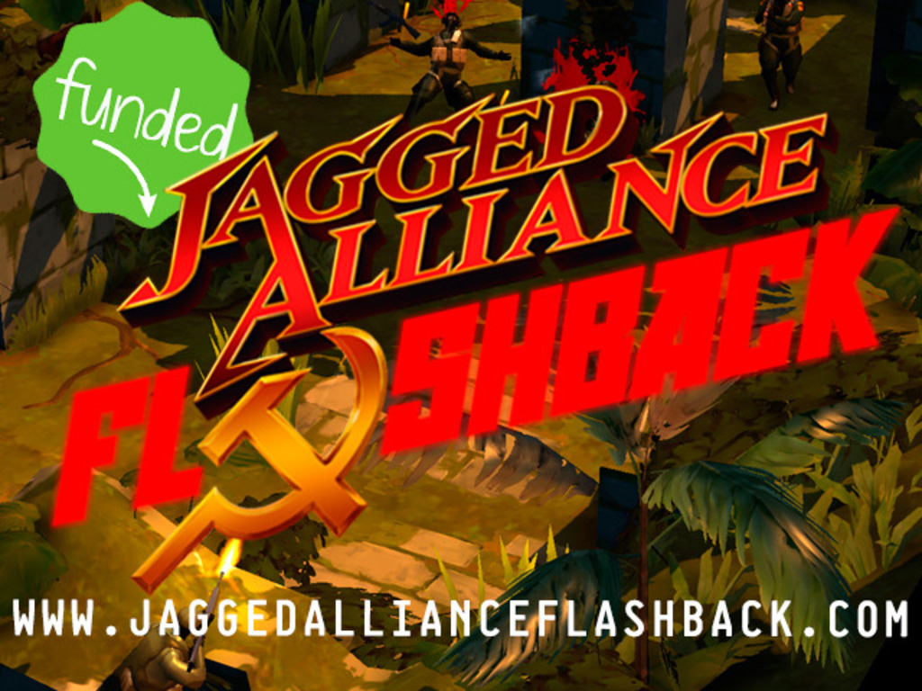 Jagged Alliance: Flashback's video poster