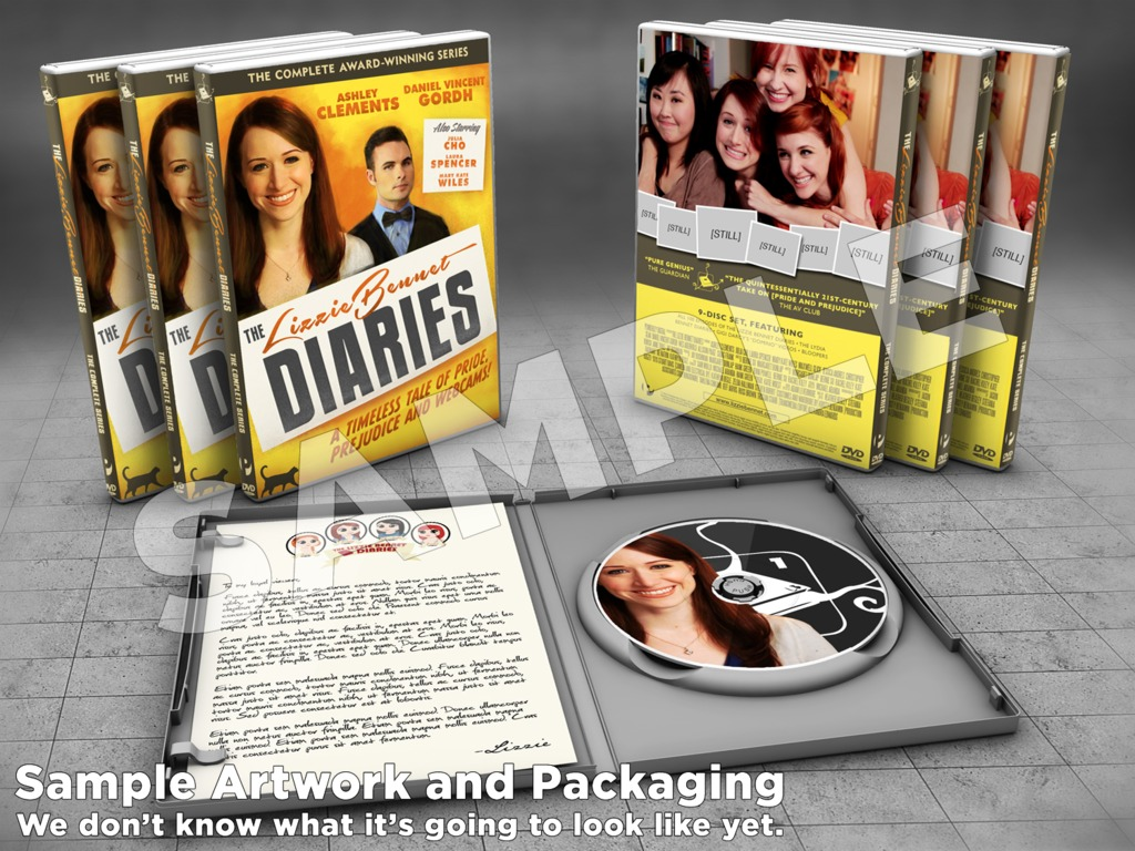 The Lizzie Bennet Diaries DVD...and More!'s video poster