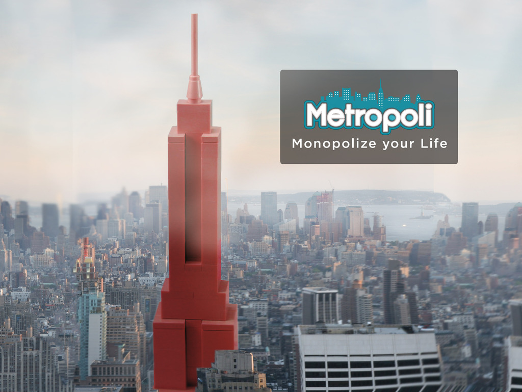 Metropoli: Monopolize your life one check-in at a time's video poster