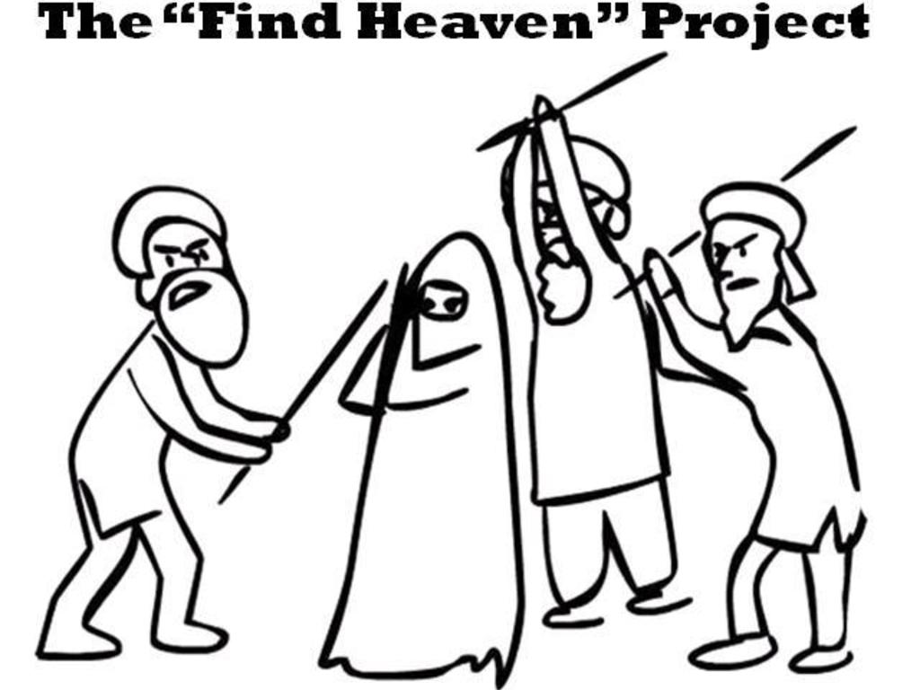 "The ""Find Heaven"" Project's video poster"