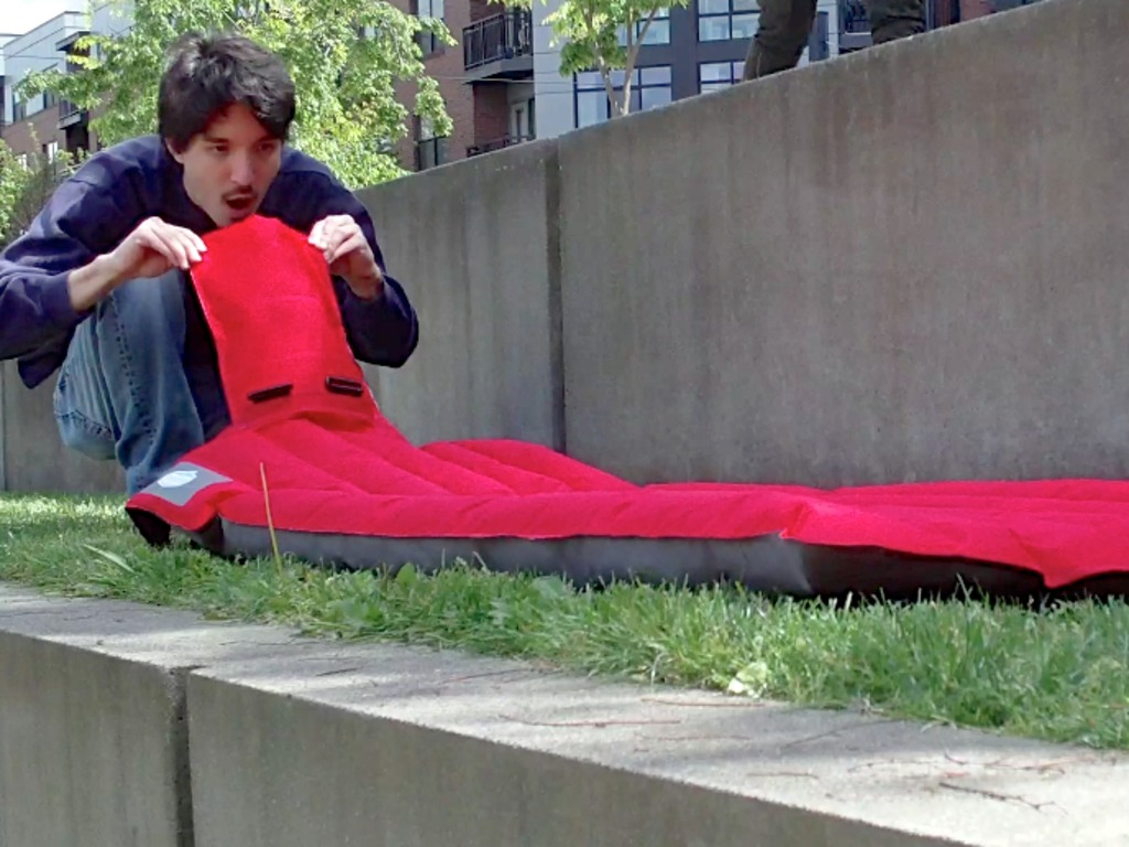 Windcatcher: Inflates in seconds with NO power or pumping's video poster