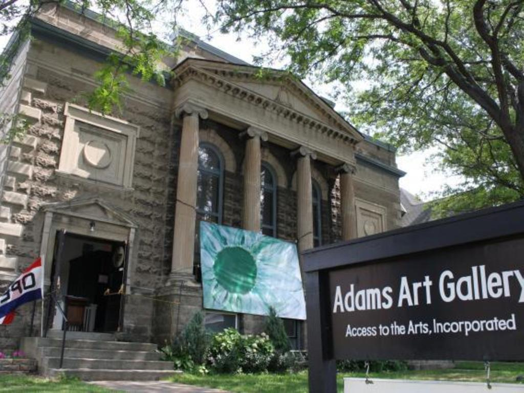 Raise the Roof at the Adams Art Gallery's video poster