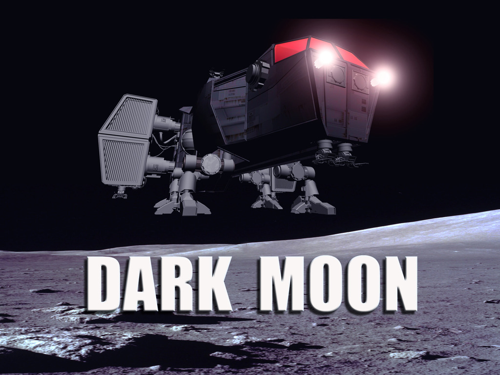 """Dark Moon"" Sci-Fi Feature Film's video poster"