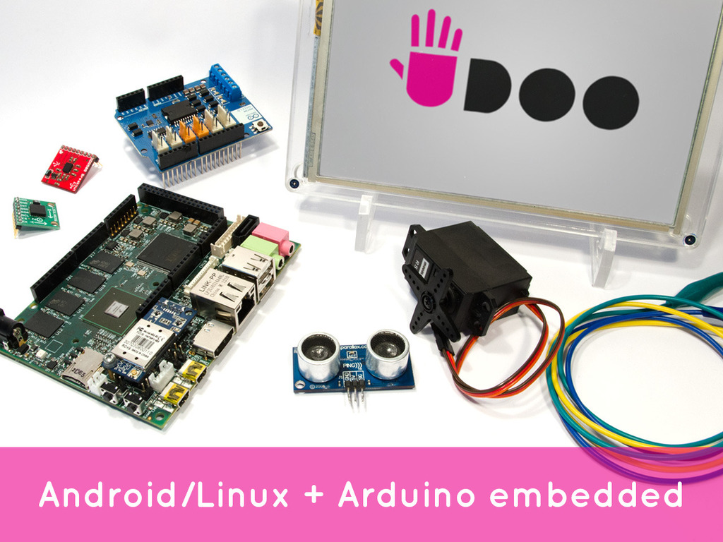 UDOO: Android Linux Arduino in a tiny single-board computer's video poster