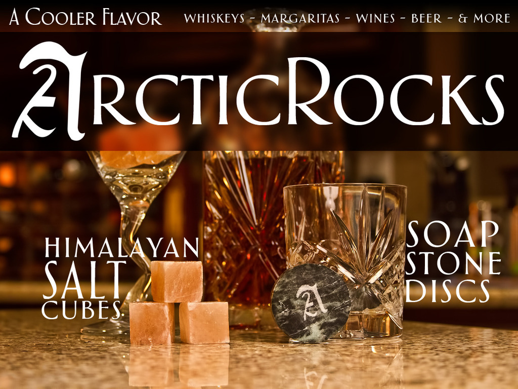 Arctic Rocks - Himalayan Salt & Soapstone Drink Chillers's video poster