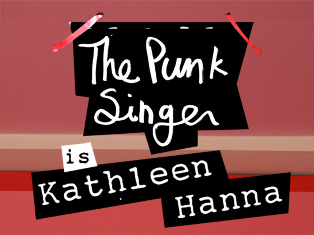The Punk Singer: The Documentary about Kathleen Hanna's video poster