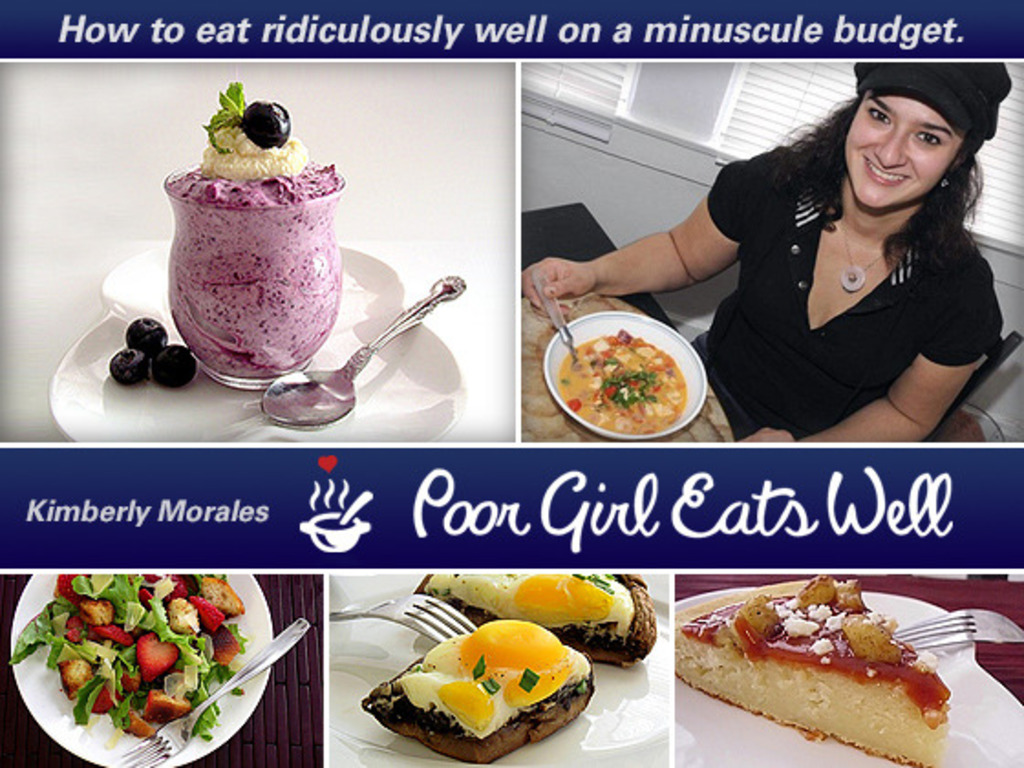 Poor Girl Eats Well – The Book's video poster