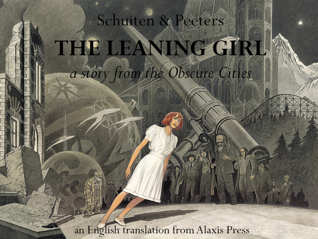 The Leaning Girl Translated Graphic Novel Project's video poster