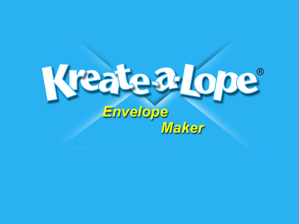 Kreate-a-lope® - The Fastest Envelope Maker on the Planet!'s video poster
