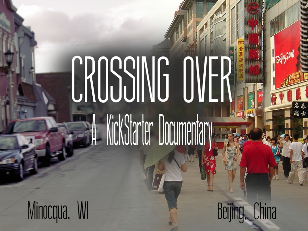 Crossing Over: A Kickstarter Documentary's video poster