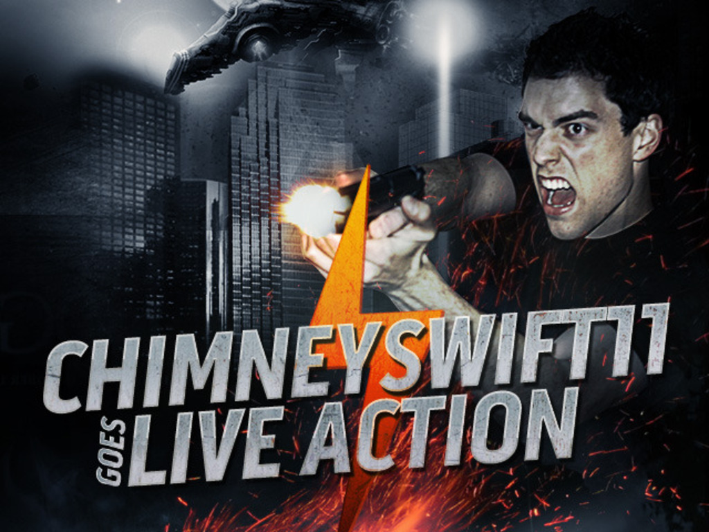 ChimneySwift11 Goes Live Action's video poster